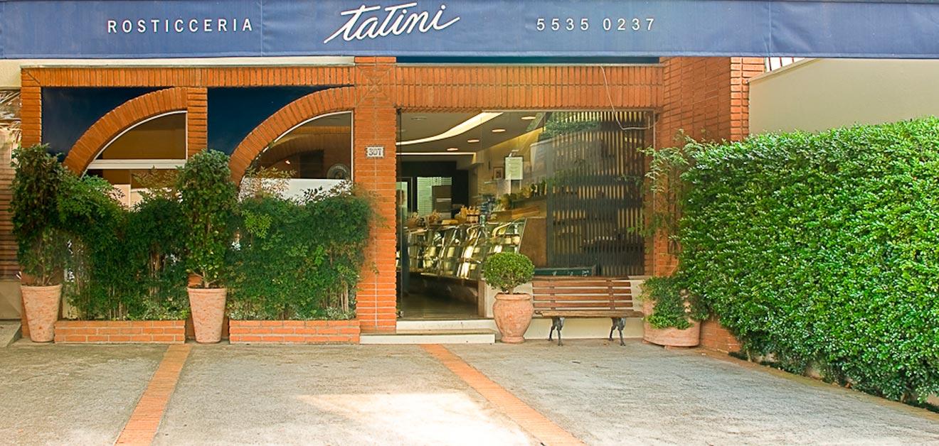 Contato e endereço Tatini